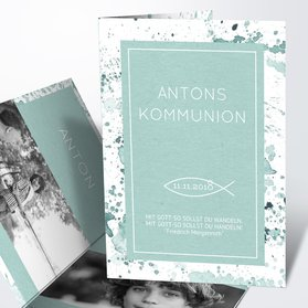 Kommunionskarten   Kommunions Impression