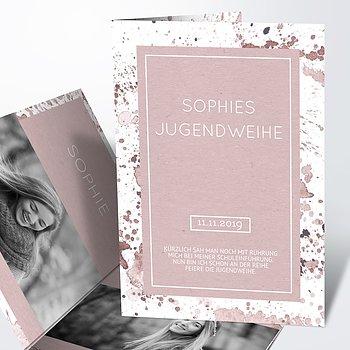 Jugendweihe Karten - Jugendweihe-Impression