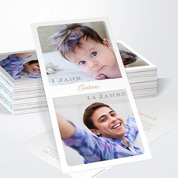 Jugendweihe Karten - Die Zeit fliegt Jugendweihe