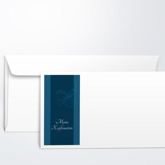 Umschlag mit Design Konfirmation - Sympathie