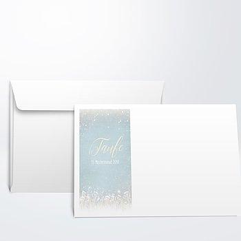 Umschlag mit Design Taufe - Zauberlicht Baby