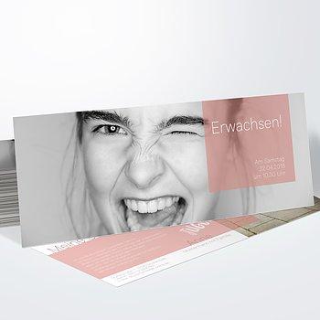 Jugendweihe Karten - Cubes