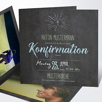 einladungskarten konfirmation - konfirmationseinladungen