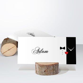 Tischkarten Hochzeit - Mr & Mrs