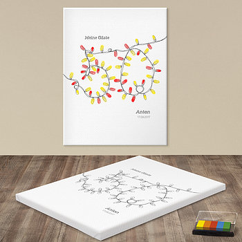 Fingerabdruckposter - 50ster Fingerprint