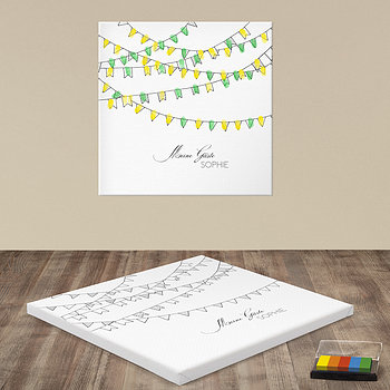 Fingerabdruckposter - Wimpel