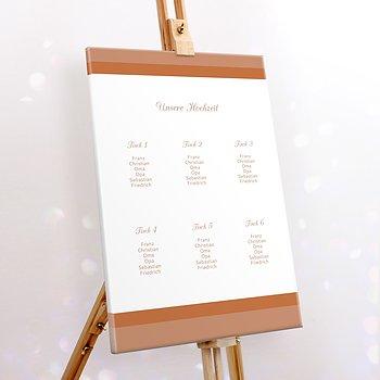Sitzplan Hochzeit - Ja, ich will
