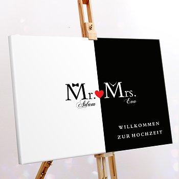 Wegweiser - Mr & Mrs