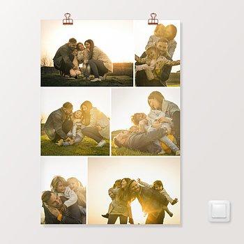 Wandbilder - Collage Vertikal