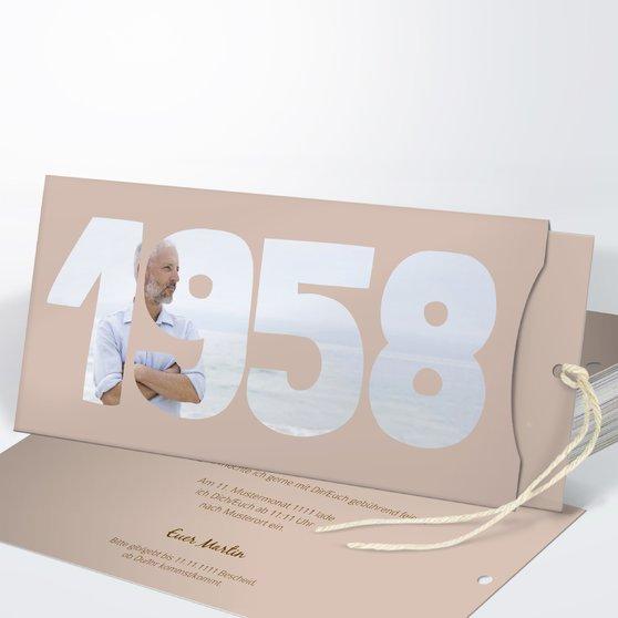 Geburtstagseinladungen - Jahrgang 1958