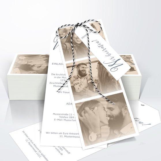Unsere Bestimmung - Kartenset Trio 90x210 - Dunkelgrau