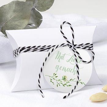 Geschenkanhänger - Grüne Pracht
