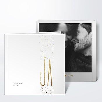 Notizbuch Hochzeit - Goldsturm