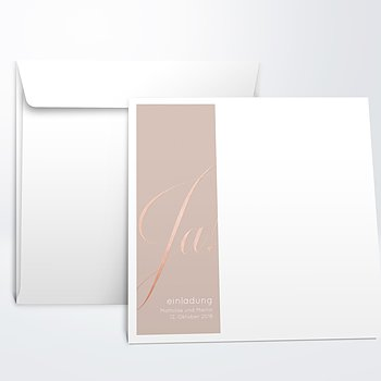 Umschlag mit Design Hochzeit - Glitterfunken