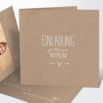 Firmung Karten - Rustique