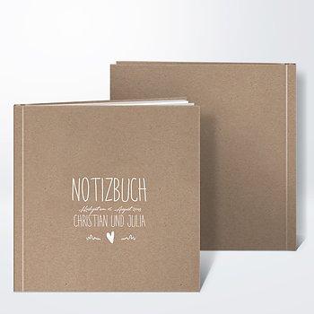 Notizbuch Hochzeit - Rustique