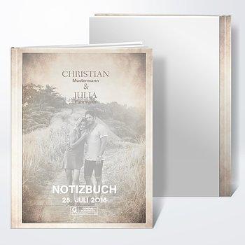 Notizbuch Hochzeit - Moviestar