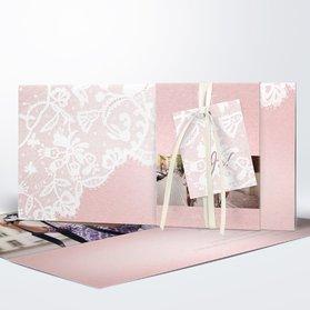 Hochzeitseinladung   Pastellspitze