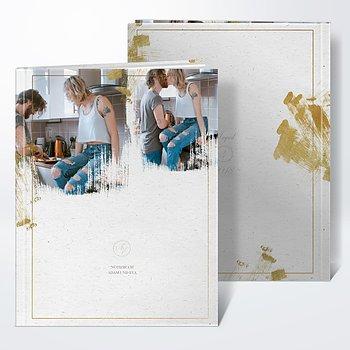 Notizbuch Hochzeit - Goldrand
