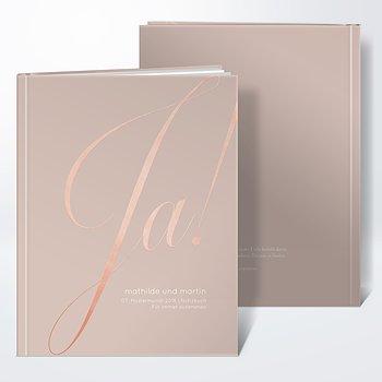 Notizbuch Hochzeit - Glitterfunken