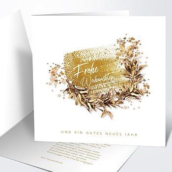 Weihnachtskarten Geschäftlich - Winterwonne