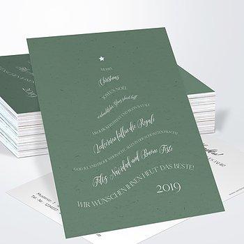 Weihnachtskarten Geschäftlich - Versbäumchen