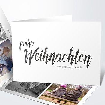 Weihnachtskarten - Unser Jahr