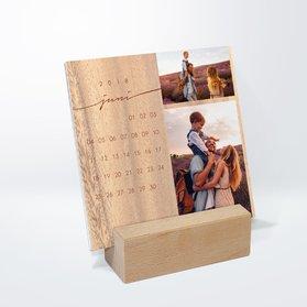 fotokalender jahresringe tischkalender detail. Black Bedroom Furniture Sets. Home Design Ideas