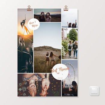 Wandbilder - Best friends