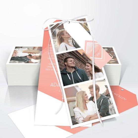 Facetten - Kartenset Trio 90x210 - Terrakotta