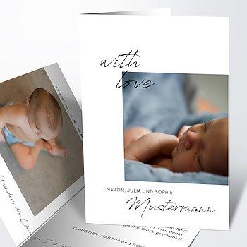 Geburtskarten - Erfülltes Herz