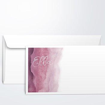 Umschlag mit Design  Baby - Aqua