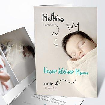 Geburtskarten - Royal Baby