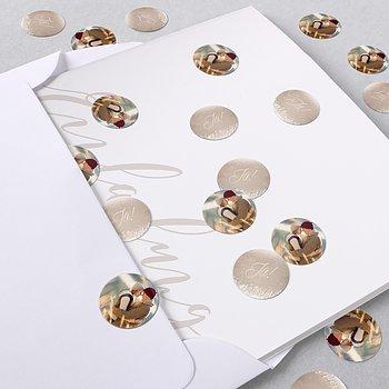 Konfetti im Umschlag - Zauberlicht
