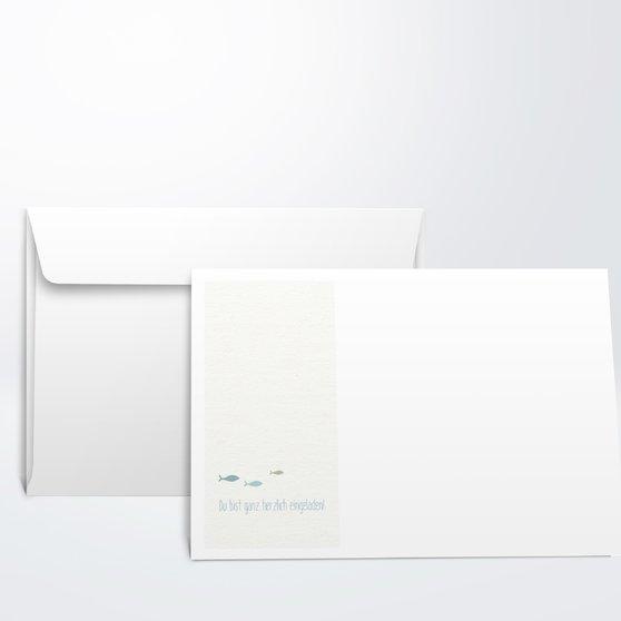 Umschlag mit Design Konfirmation - Freudenwirbel