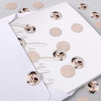 Konfetti im Umschlag - Glitterfunken
