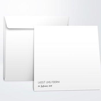 Umschlag mit Design Geburtstag - Neuer Anstrich 50