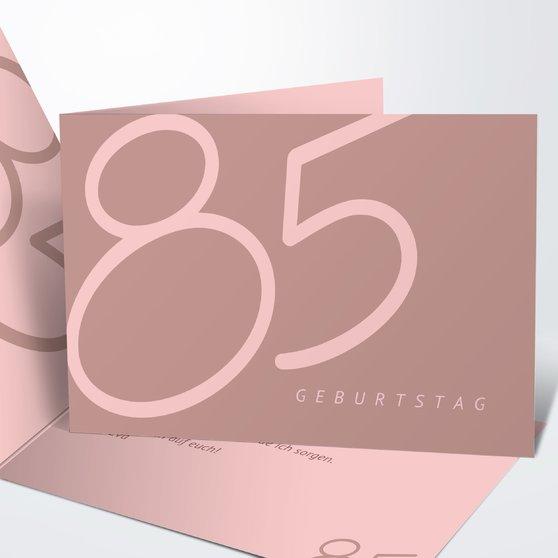 einladungskarten 85. geburtstag
