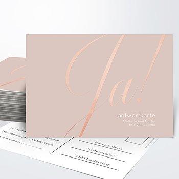 Antwortkarte - Glitterfunken