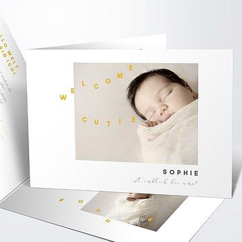 Geburtskarten - Freudentanz
