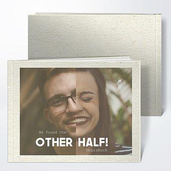 Notizbuch Hochzeit - Bessere Hälfte