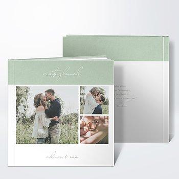 Notizbuch Hochzeit - Sinnesrauschen