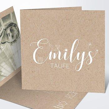 Taufkarten - Füchslein