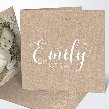 Geburtskarten - Füchslein