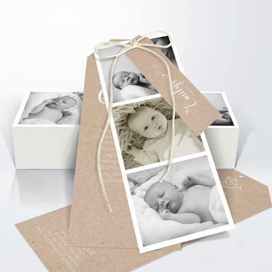 Danksagung Geburt - Füchslein