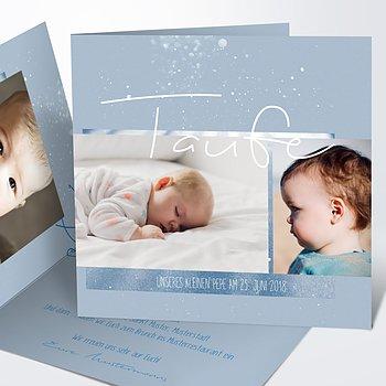 Taufkarten - Milky Way Baby