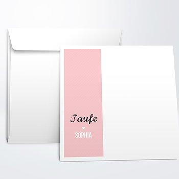 Umschlag mit Design Taufe - Große Gefühle