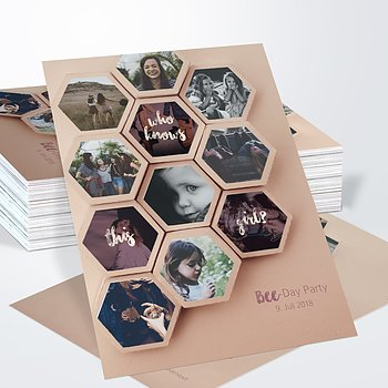 Geburtstagseinladungen - Bee-Day 30