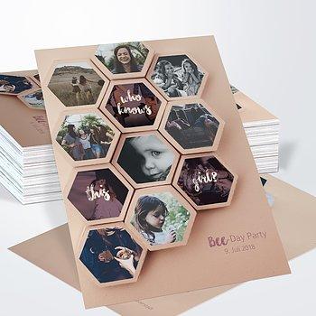 Geburtstagseinladungen - Bee-Day 40