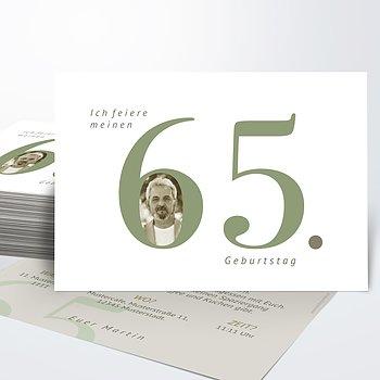 Geburtstagseinladungen - In Bestform 65